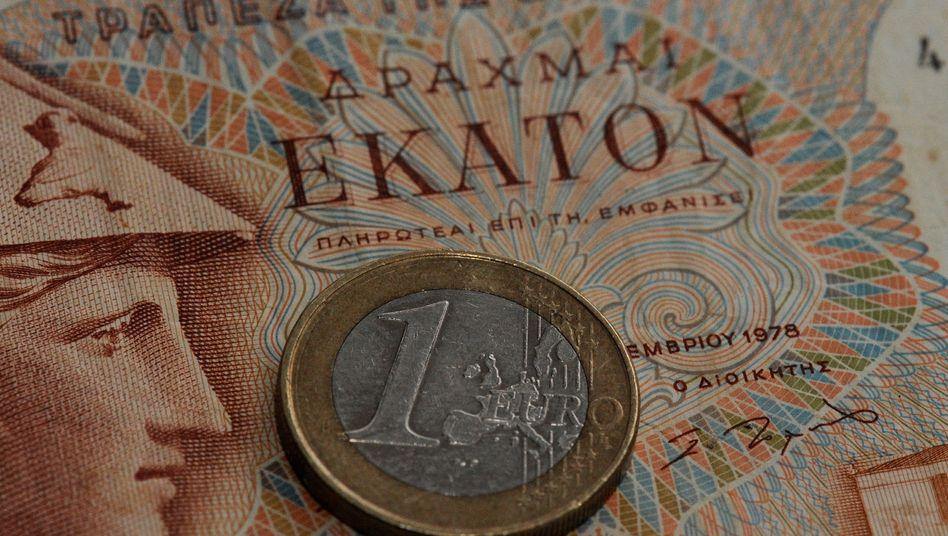 Euro auf Drachme: Kehrt Griechenland der Gemeinschaftswährung den Rücken, dürfte das Auswirkungen auf viele Anlegerdepots haben