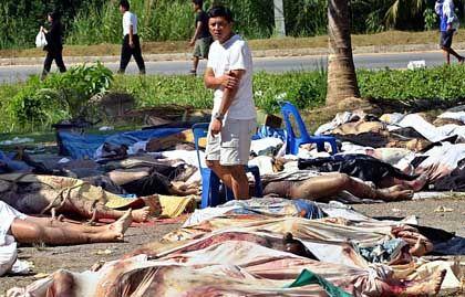 """Schlicht unüberschaubare Opferzahlen: """"Viele Vermisste werden tot sein"""""""