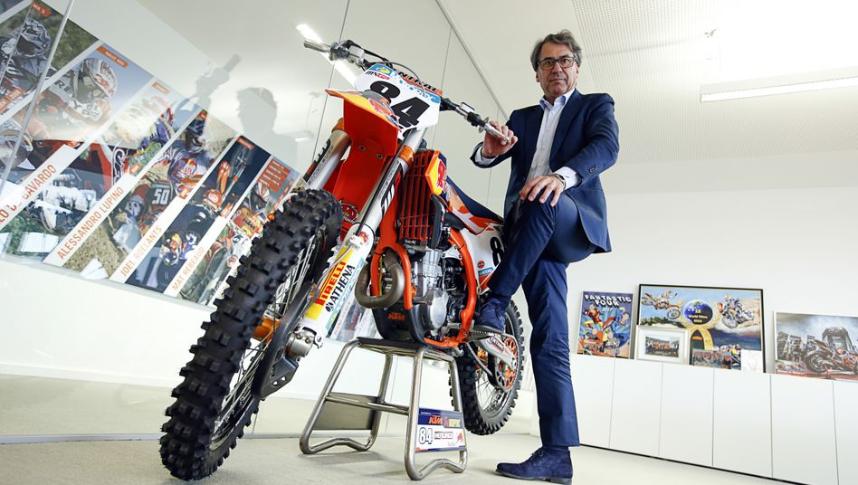 Tempomacher: Multiunternehmer Stefan Pierer kauft am liebsten in der Krise. Beim Sanierungsfall Leoni ist er seit Kurzem mit 15 Prozent größter Aktionär.
