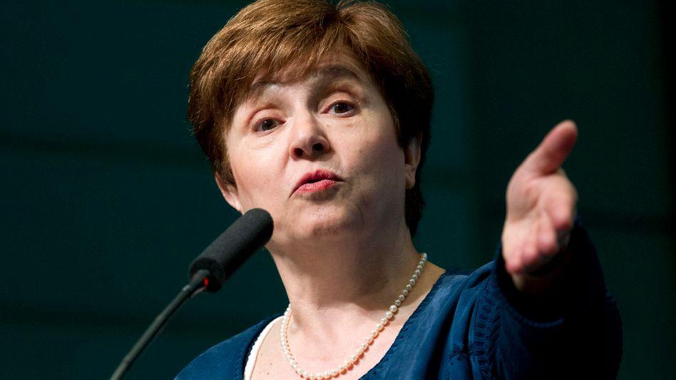 """IWF-Chefin Kristalina Georgieva: Deutschland, Südkorea und Niederlande sollten ihre """"finanzielle Feuerkraft"""" nutzen"""