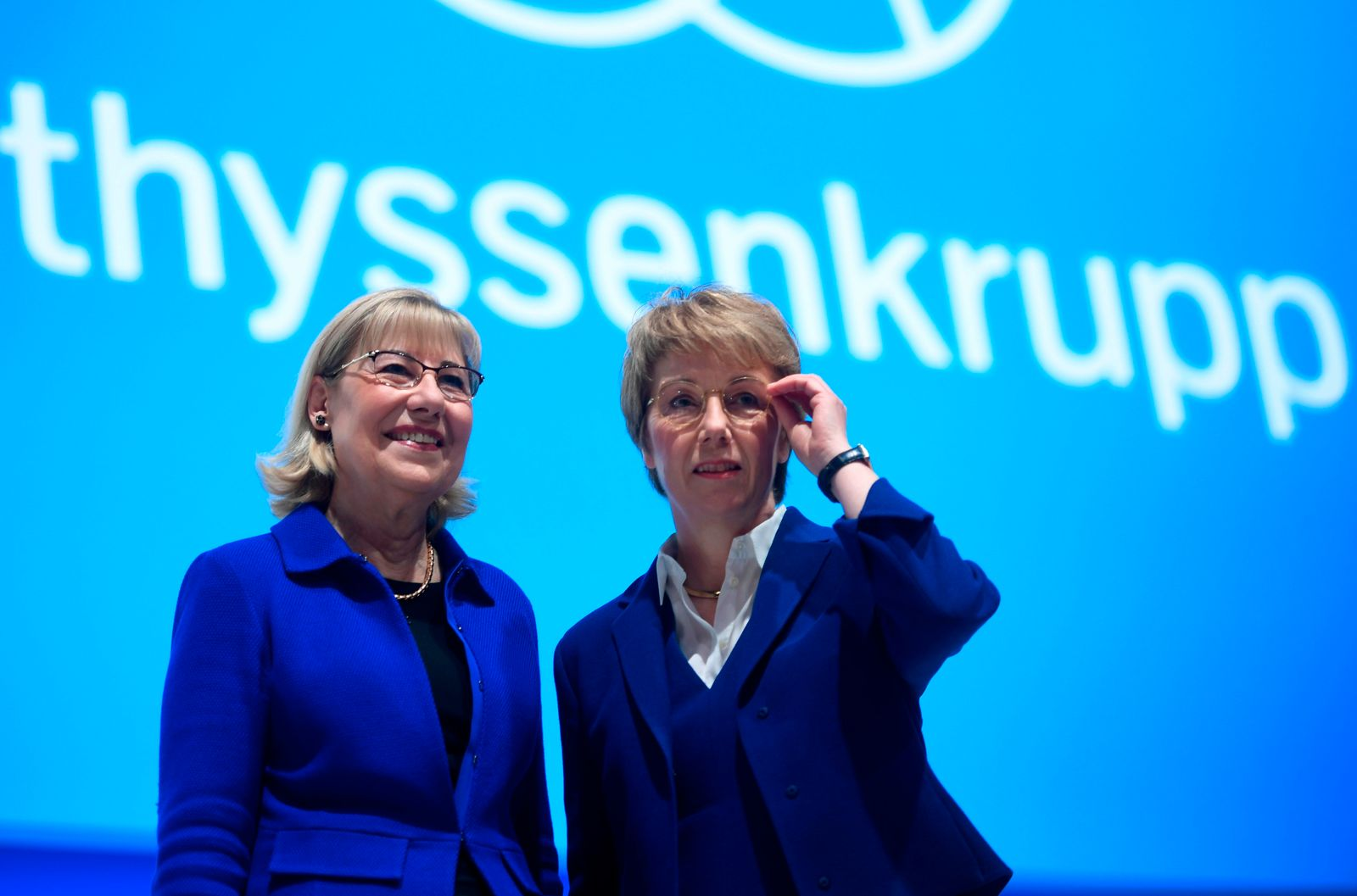 GERMANY-INDUSTRY-COMPANY-THYSSENKRUPP-AGM