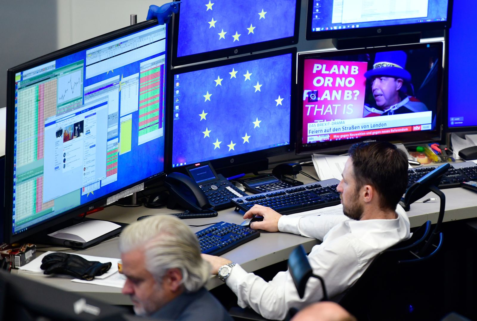 Börse Frankfurt / Brexit