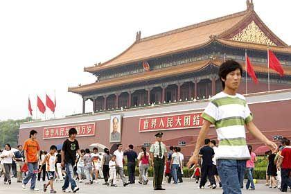 Tiananmen Platz in Peking: Chinas Wirtschaft droht zu überhitzen
