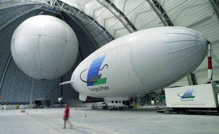Das Projekt Cargolifter war zur Jahrtausendwende spektakulär gescheitert