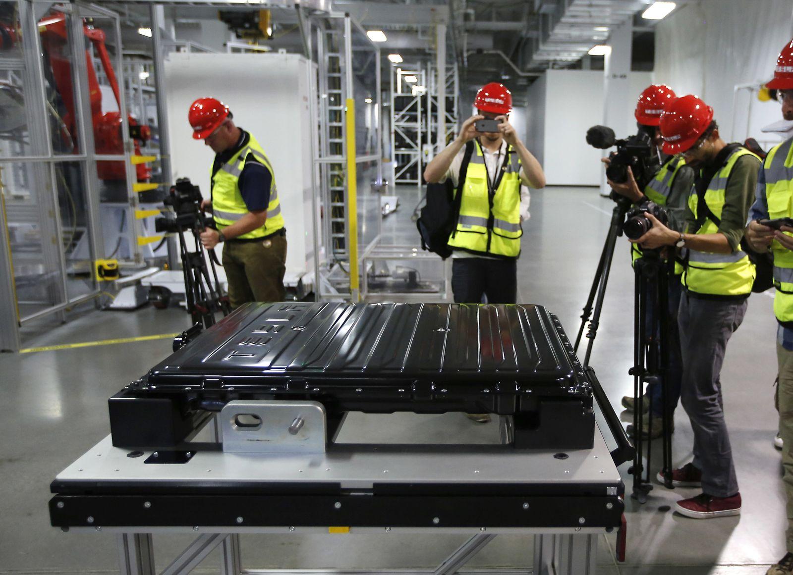 Tesla Gigafactory / Baustelle