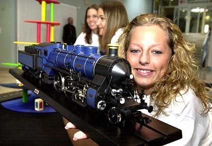 Königlich mit Anhang: Modell der Schnellzuglokomotive 54562