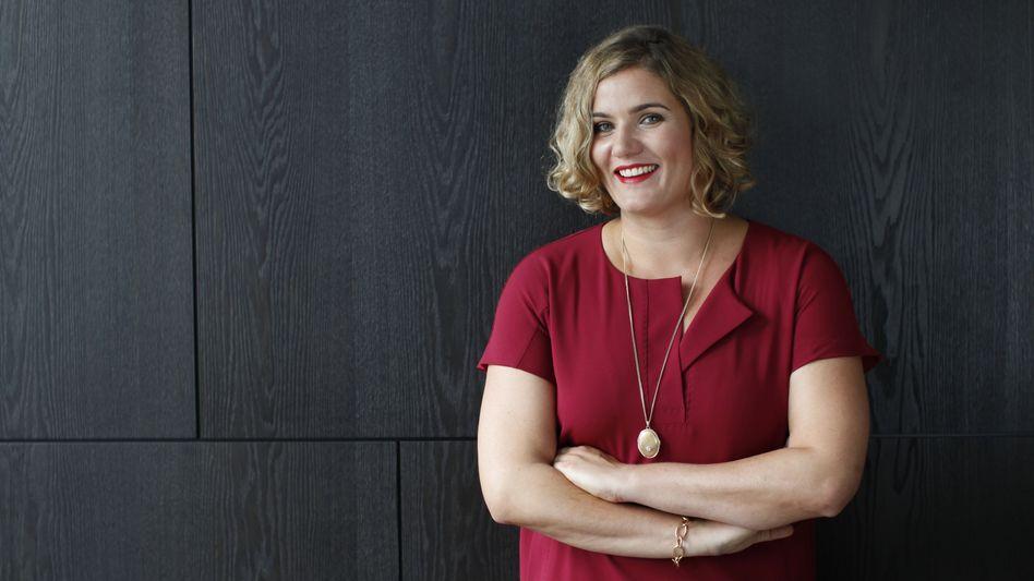 Vorsichtig: Unternehmerin Yvonne Bauer