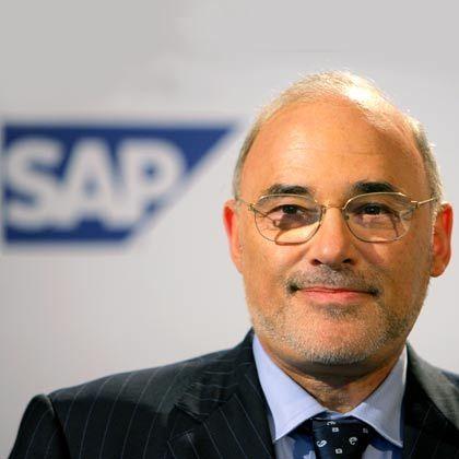 """""""SAP steht vor einer großen Wachstumswelle.""""Léo Apotheker, SAP-Vorstandsvorsitzender"""