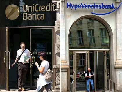 Fondgesellschaft Nordinvest verkauft: Die HVB wurde selbst von der italienischen Bank Unicredit gekauft