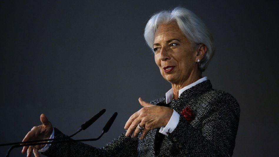 Christine Lagarde: Die Chefin des IWF sorgt sich um Großbritannien