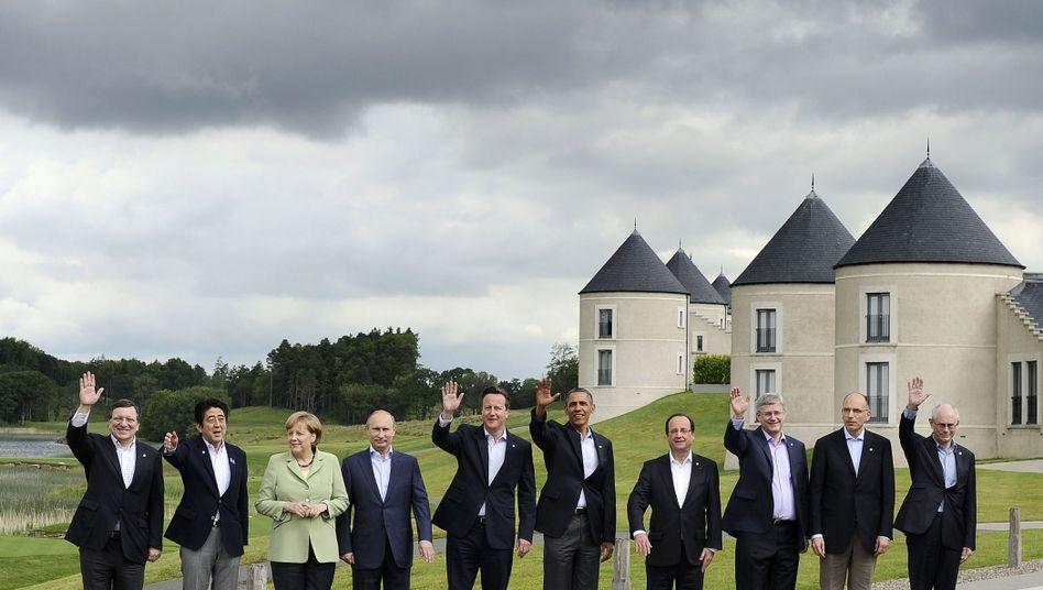 G8-Staatschef: Absichtserklärung für gemeinsames Schließen von Steuerschlupflöchern