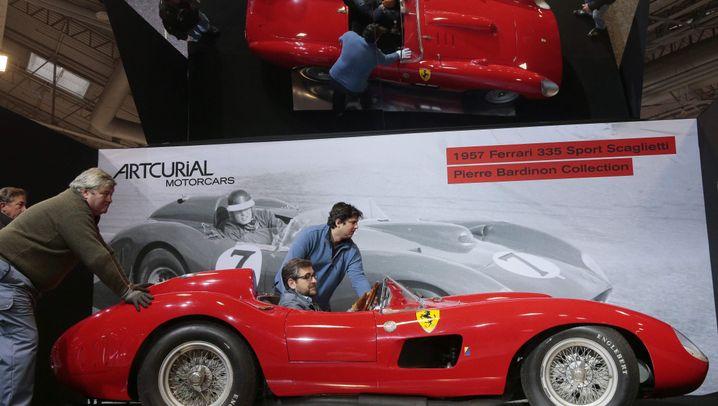 Ferrari für 32 Millionen Euro versteigert: Ein Traum in rot