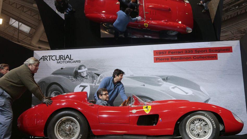 Geht wahrscheinlich nicht nach Barcelona: der für 32 Millionen Euro versteigerte Ferrari 335
